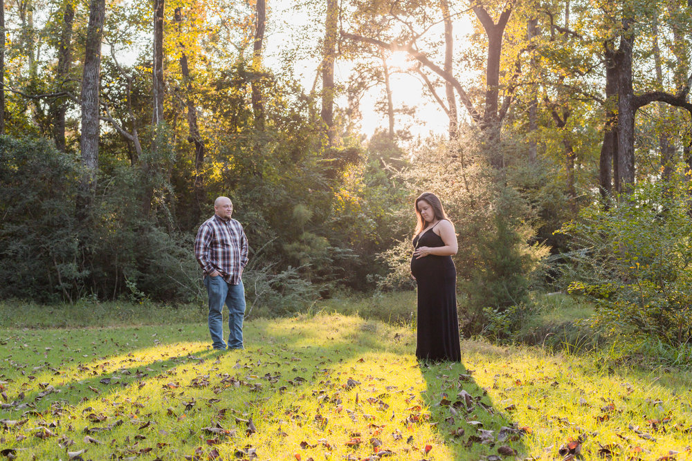 Couples Maternity Photos | Tomball TX