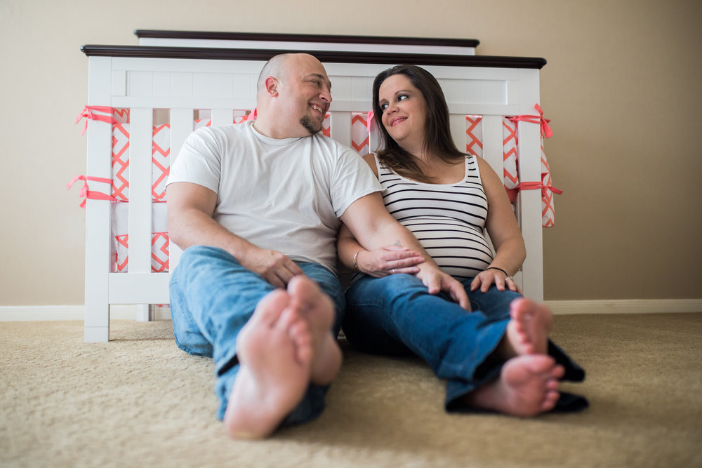 Couples Maternity Photos | Houston TX