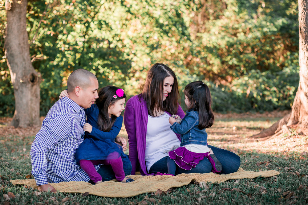 Fun Family of Four Photos | Cypress TX