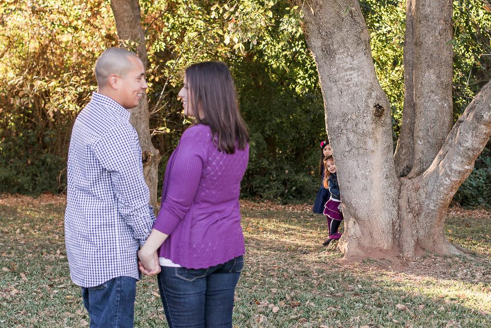 Fun Family of Four Photos | Houston TX