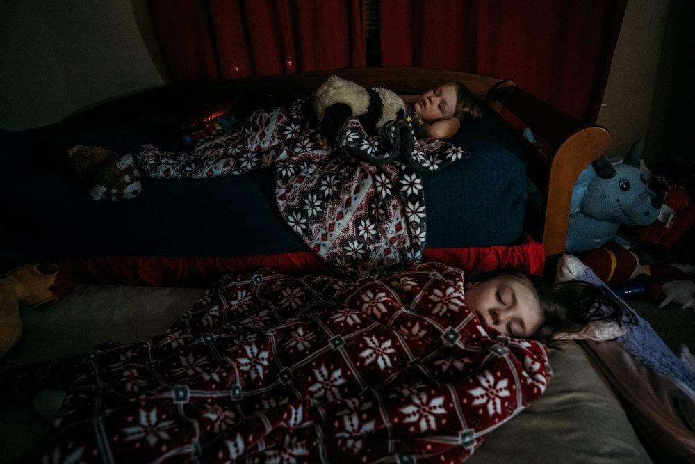 Sleepovers are their favorite