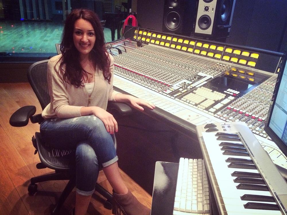 Recording at Noble Street Studios (Toronto, ON)