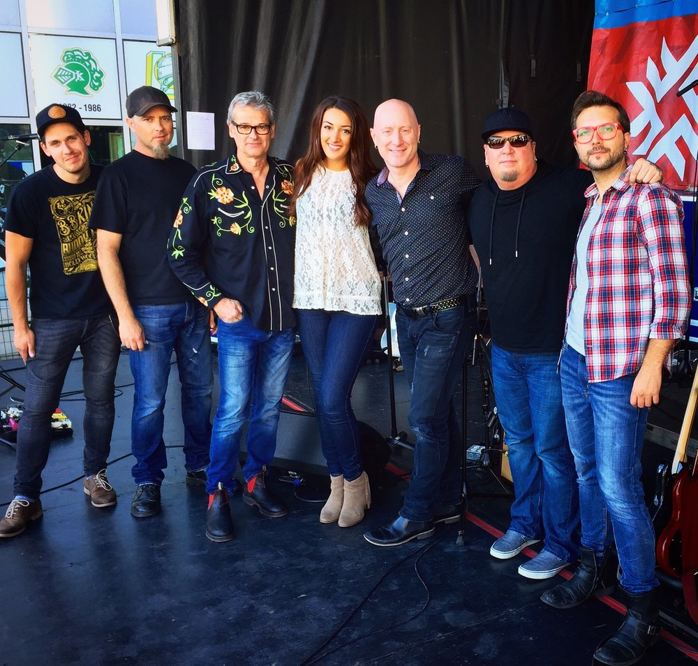 CCMA '16 Green Carpet Show House Band (London, ON)