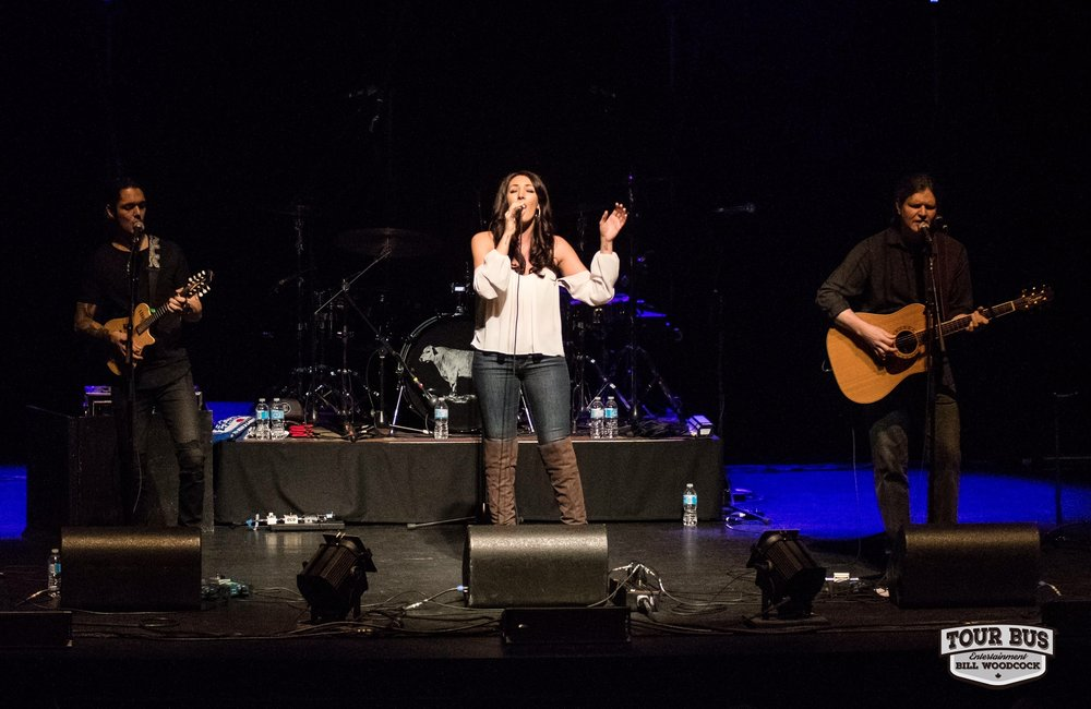 Live at River Run Centre opening for Brett Kissel. Photo by Tour Bus Entertainment