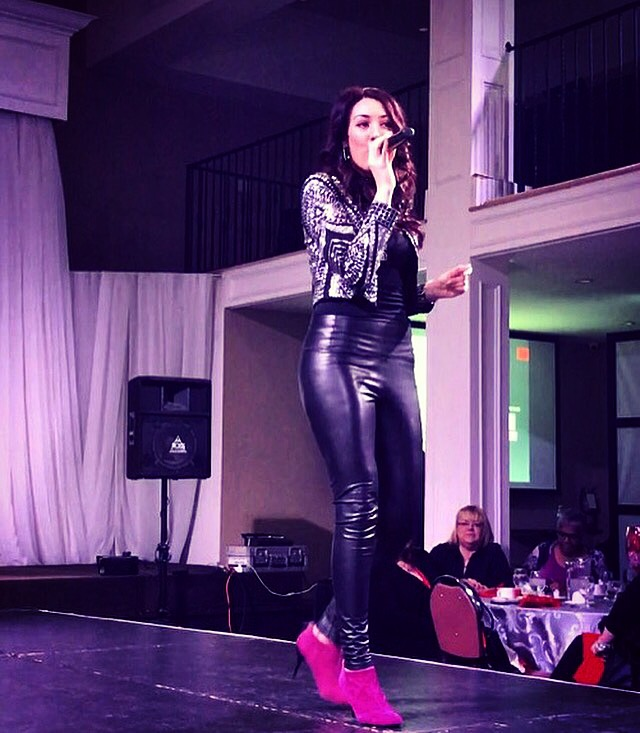 Performing at the Peace | Love Fashion Show
