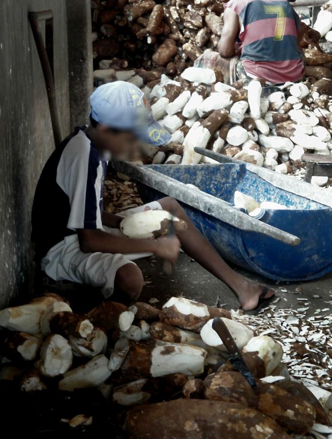 Child laborers in Brazil