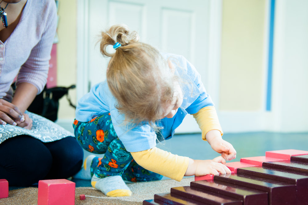 Using the Montessori materials