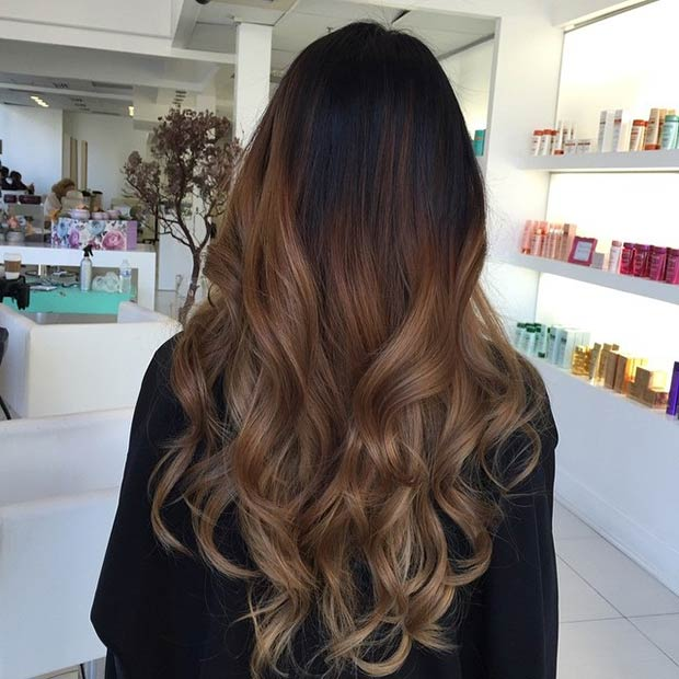 Caramel Balayage Twisted River Hair Studio