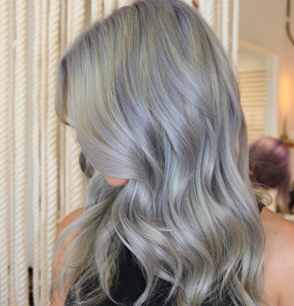 Top Hair Colors Metallic The New Gray Twisted River Hair Studio