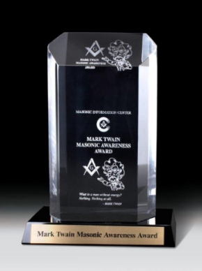Mark Twain Masonic Awareness Award