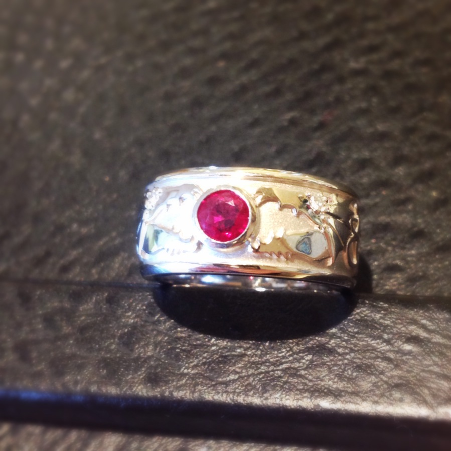 Dragon Ruby Ring