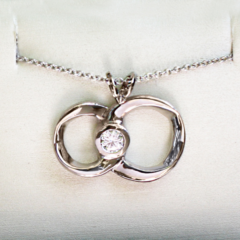 Mobius Strip Engagement Pendant