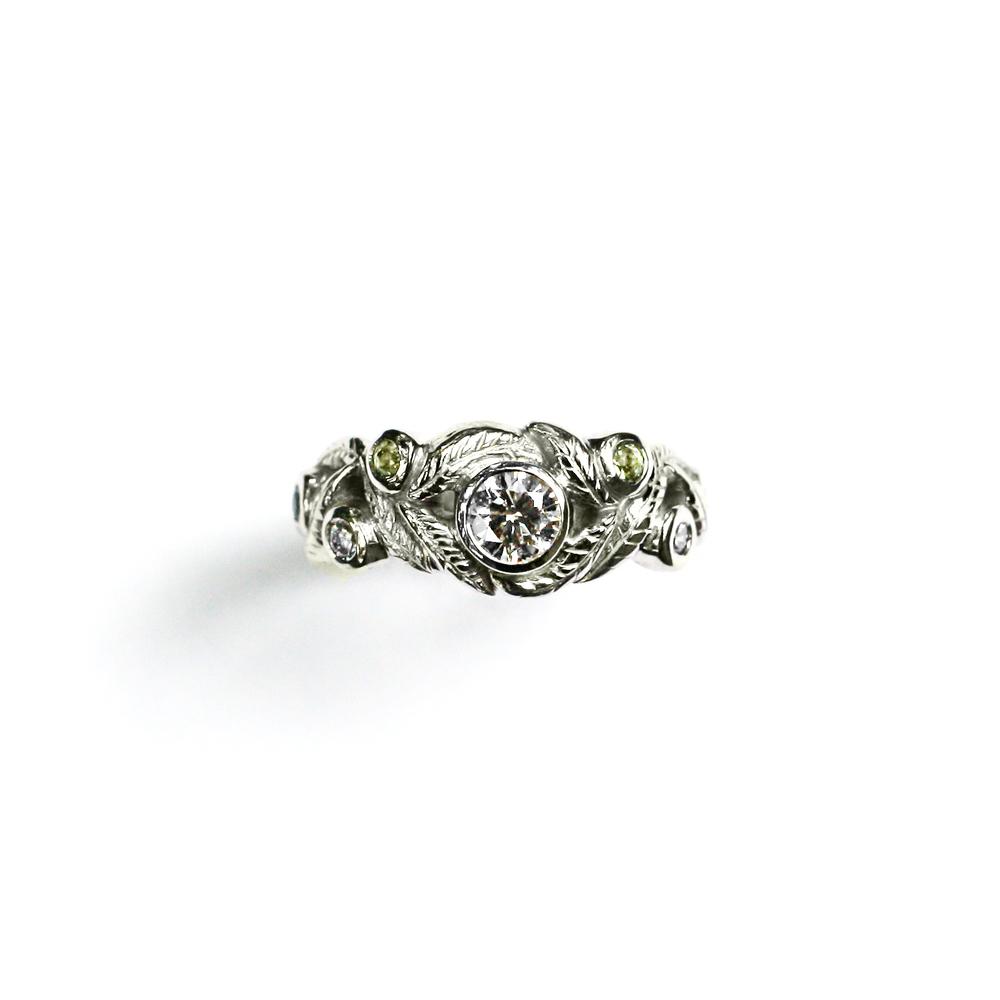Firefly inspired Engagement Ring