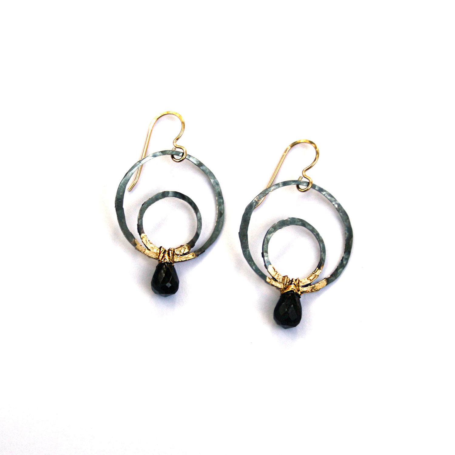 pillowed s earrings gem teardrop drop claire