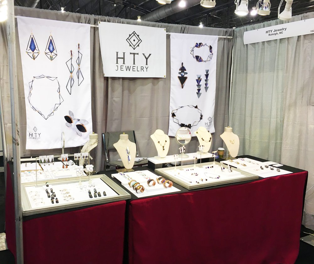 My booth at ACRE Philly