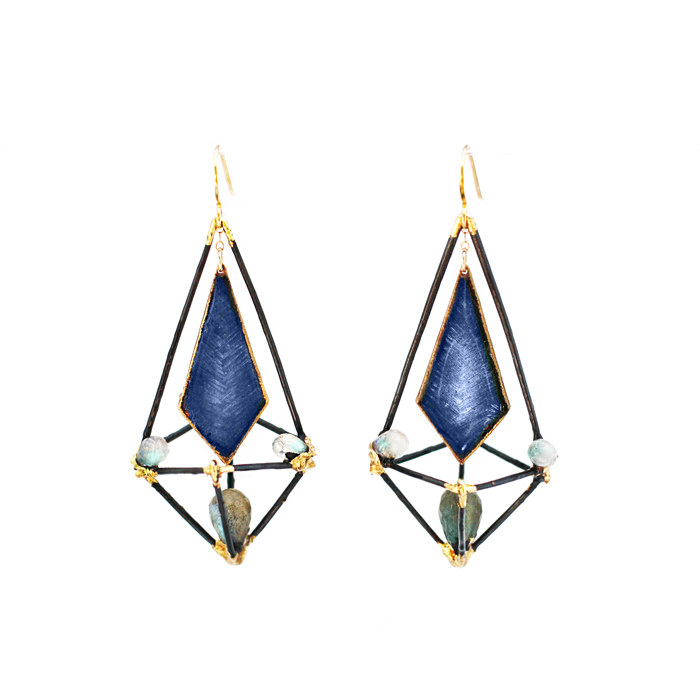 Paula R - I absolutely love them and I get a lot of compliments. They look great with my little triangle studs!