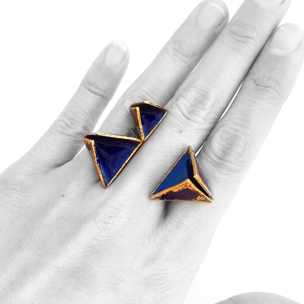 Desert K - This ring is a beautiful piece of art. I've never seen anything like it, and I get compliments every time I wear it. It's actually quite versatile, and can be worn with more formal looks or with jeans and a t-shirt.