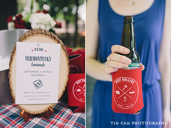 Baby Shower BBQ Custom Signs and Koozies | Foglio Press