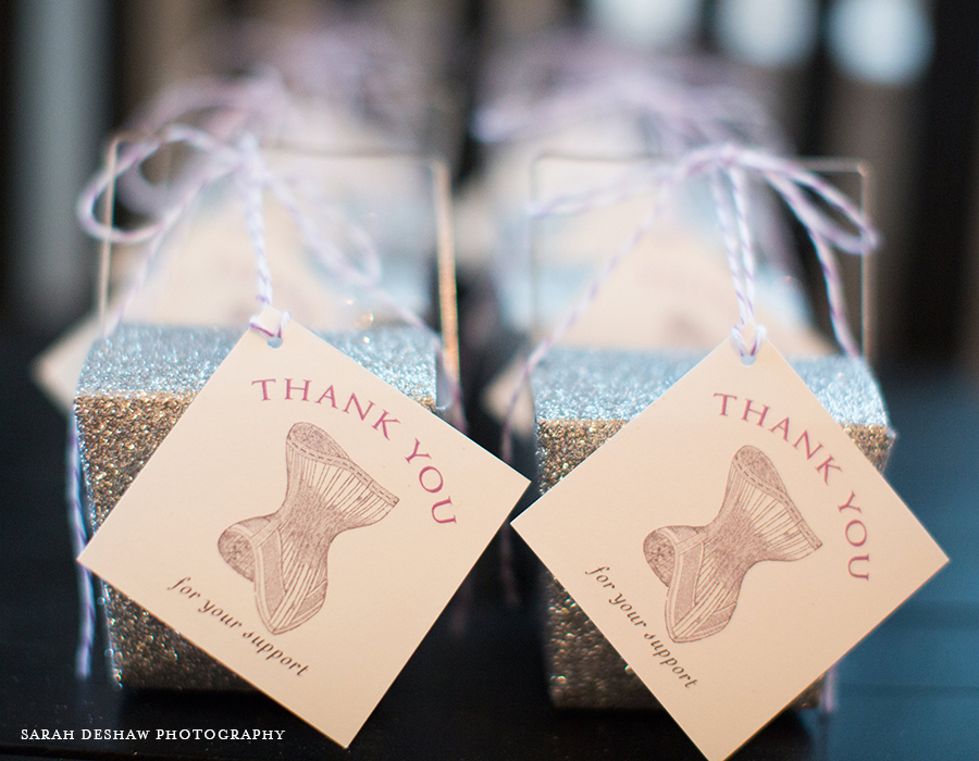Lingerie Shower Favor Packaging | Foglio Press