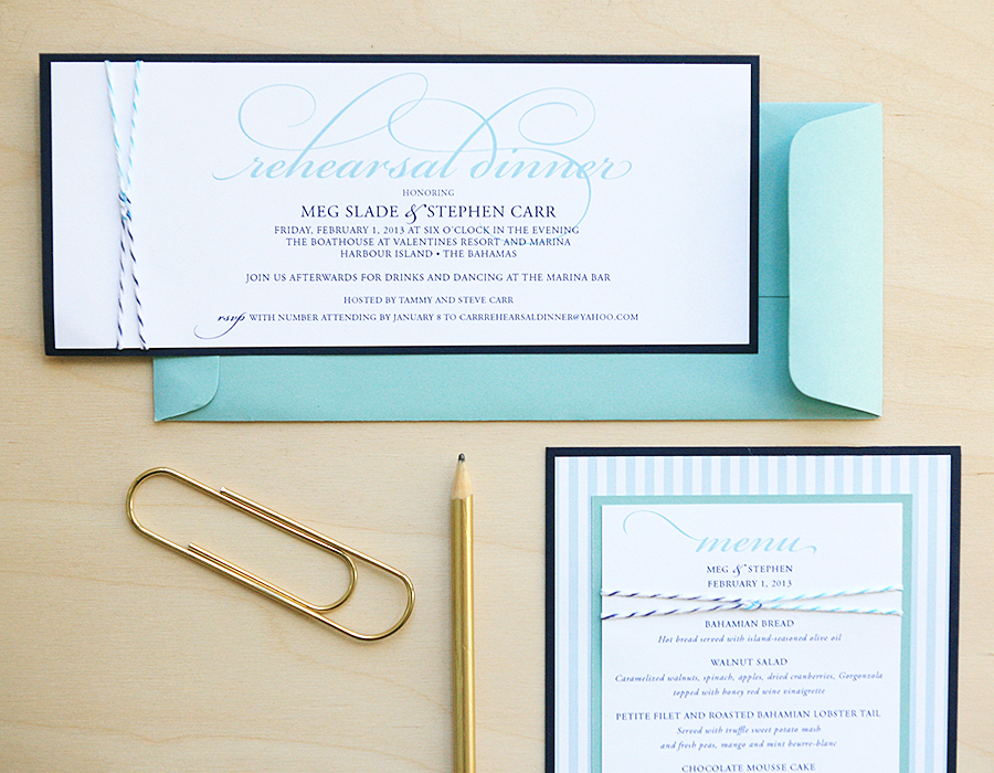 Sailors Knot Invitations | Foglio Press