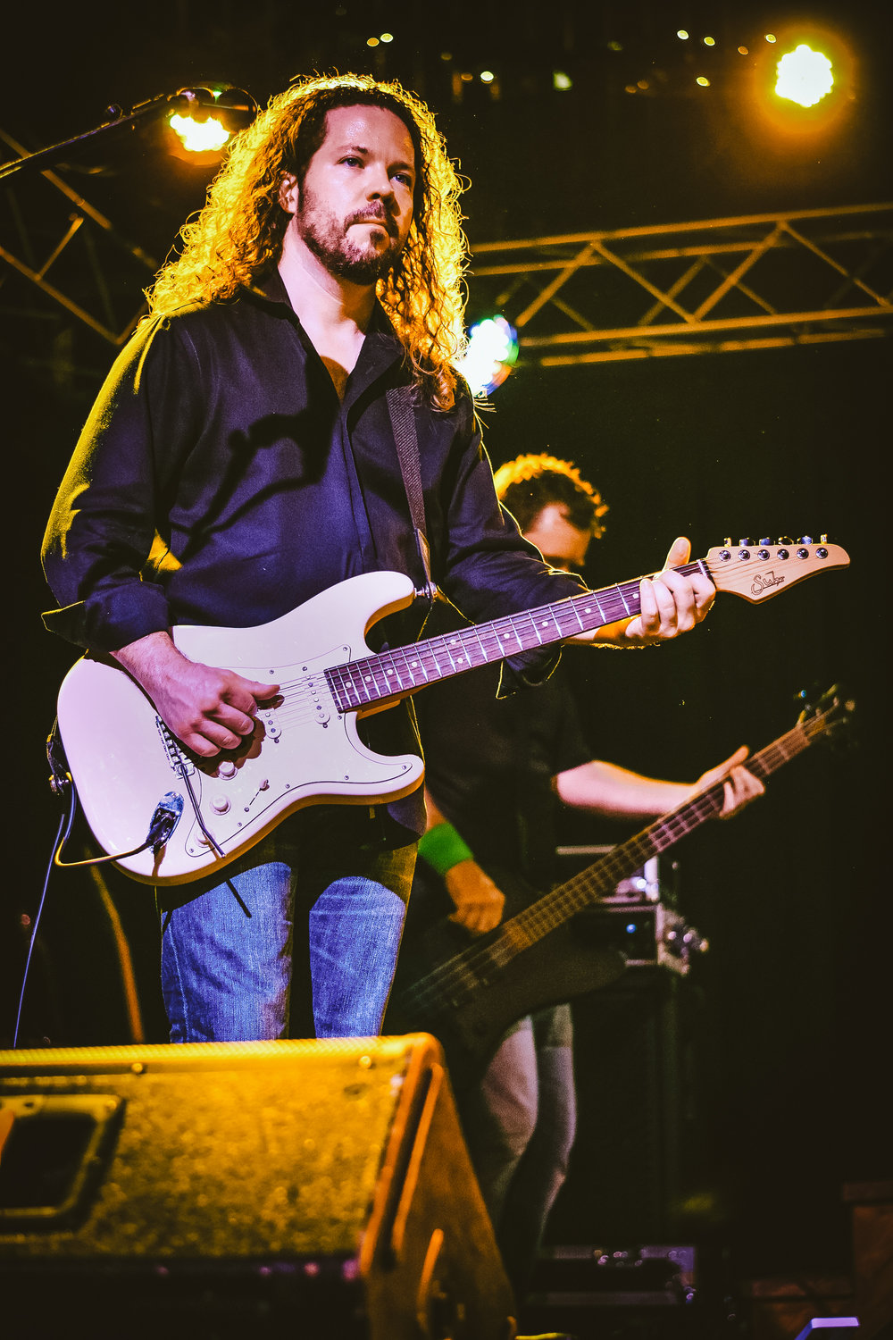 The lead guitar player of The Clintones.