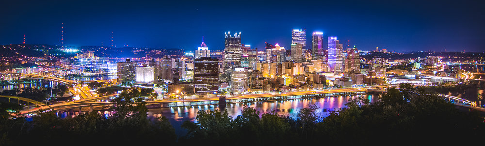 Much like Hamilton, ON, people seem to mock Pittsburgh for being a steelworkers city. The view from the Grandview Overlook would suggest it's much more than that.