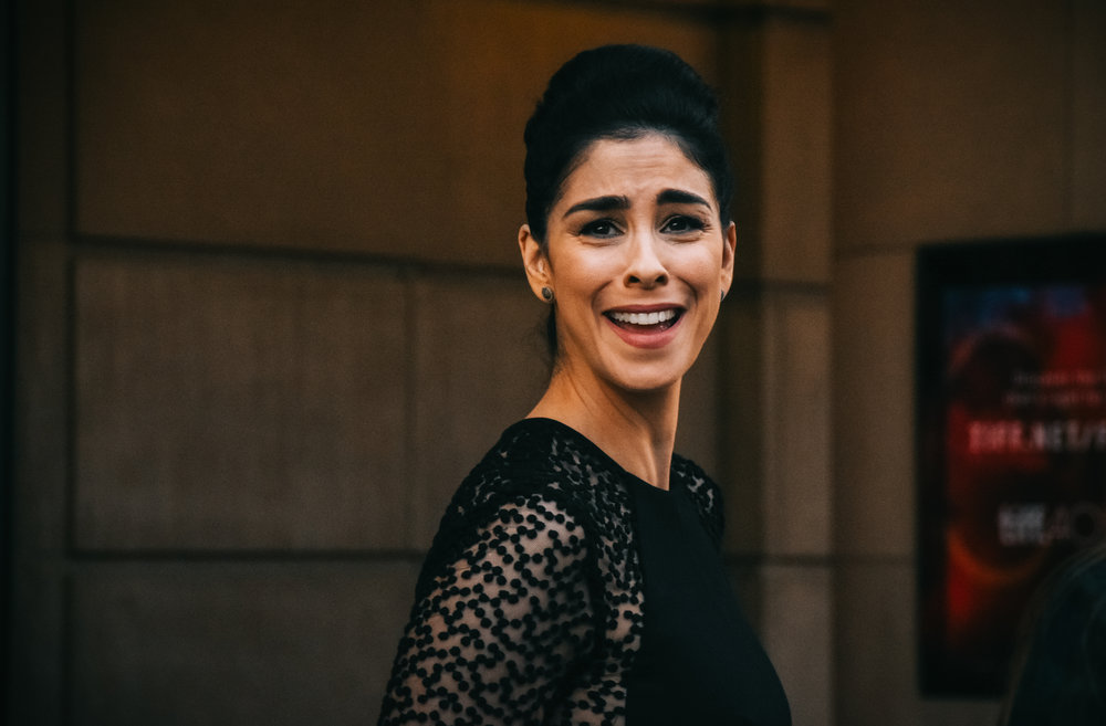 A fan shouts out to Sarah Silverman how much she loves getting high and watching The Sarah Silverman Program.