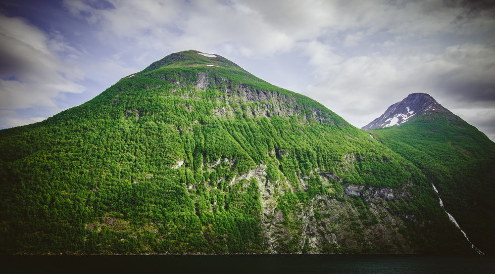 The towering faces of the fjords. Photos do not do these massive giants justice. Click for full size.