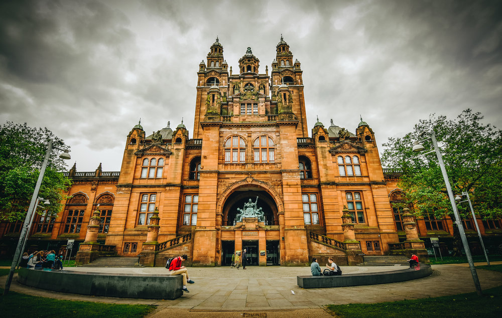 The Kelvingrove Museum & Art Gallery wasn't originally on our list but, being honest, there isn't all that much for a tourist to do here.