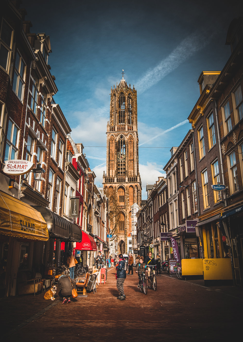 Utrecht is quite a place even if we got there too late for a trip up the tower.