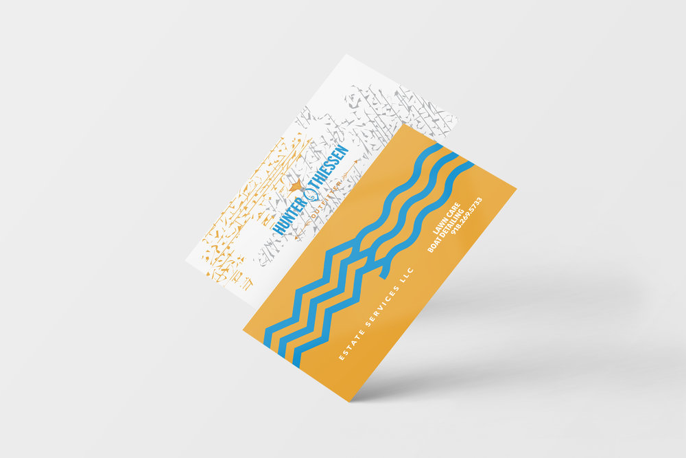 Hunter Thiessen - Business Cards