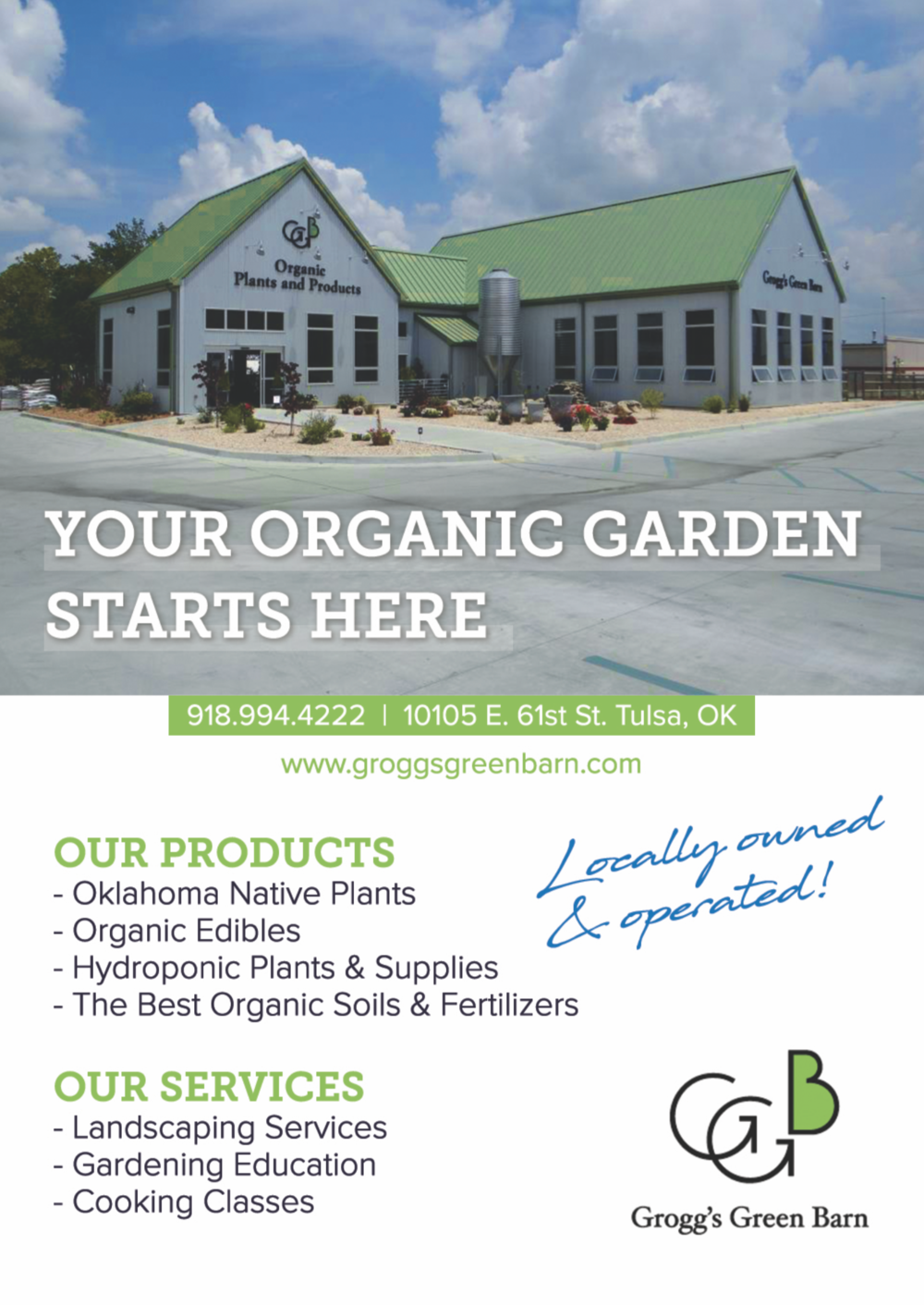 Grogg's Green Barn - Chatter Marketing