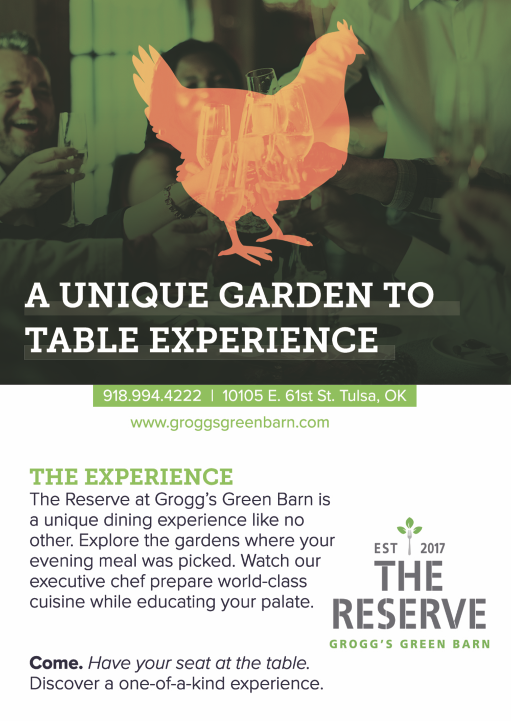 The Reserve at Grogg's - Chatter Marketing