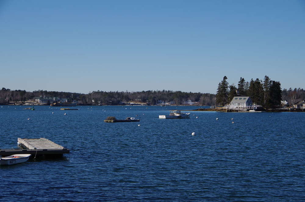 January 29, 2014 in Boothbay Harbor, ME