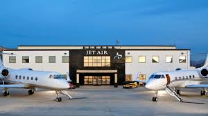 Original facade for Jet Air - now known as Circle Air Group