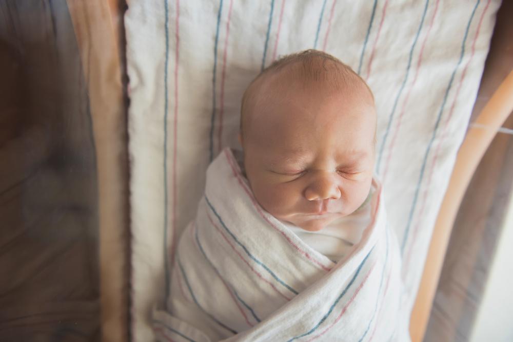 """Nikolas was born 8lbs 6ozs and 19"""" long at 12:43pm."""