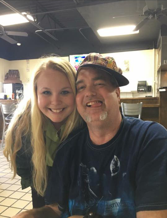 Katelyn and her amazing father
