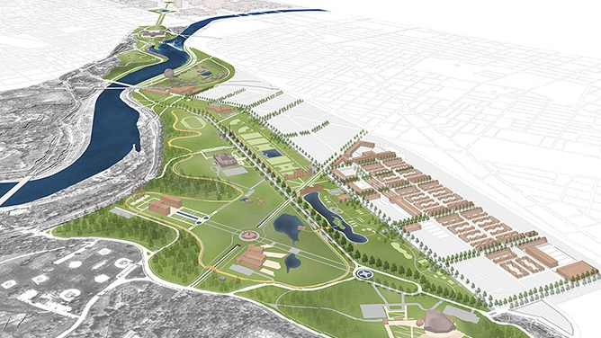 Fairmount Park Centennial District Master Plan