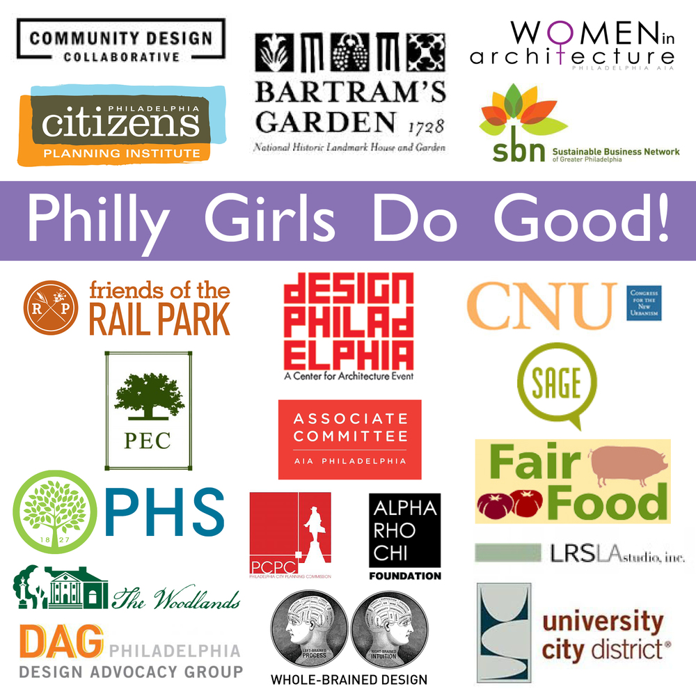 Philly Girls Do Good! Logos Locus Partners