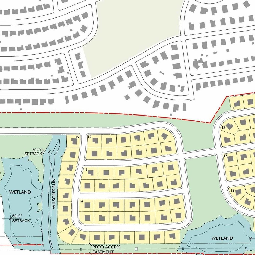 Residential Site Planning for Somerton