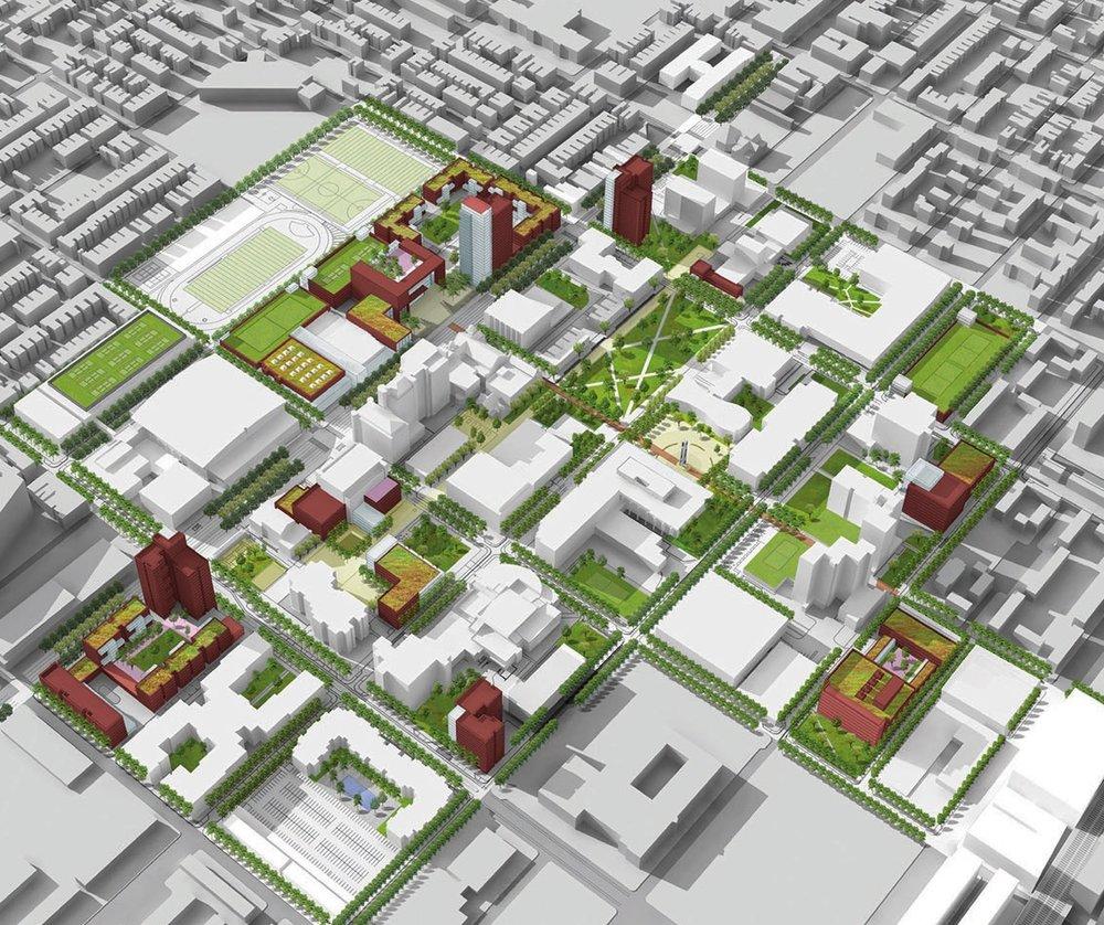 Temple University 20/20 Master Plan