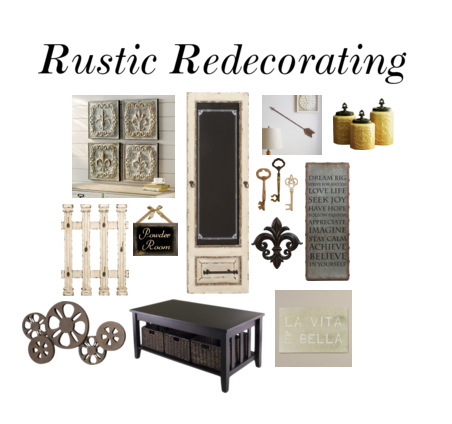 Rustic Redecorating