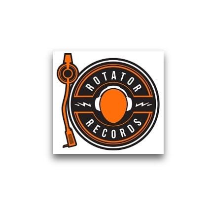 Old School Turn Table Logo Design Created for Client Rotator Records #FollowTate . . . . #tate #Socialmedia #branding #marketing #digitalmedia #happyclient #pnw #designer #digitaldesign #boutique #agency #dominatethedigitalworld #oldschool