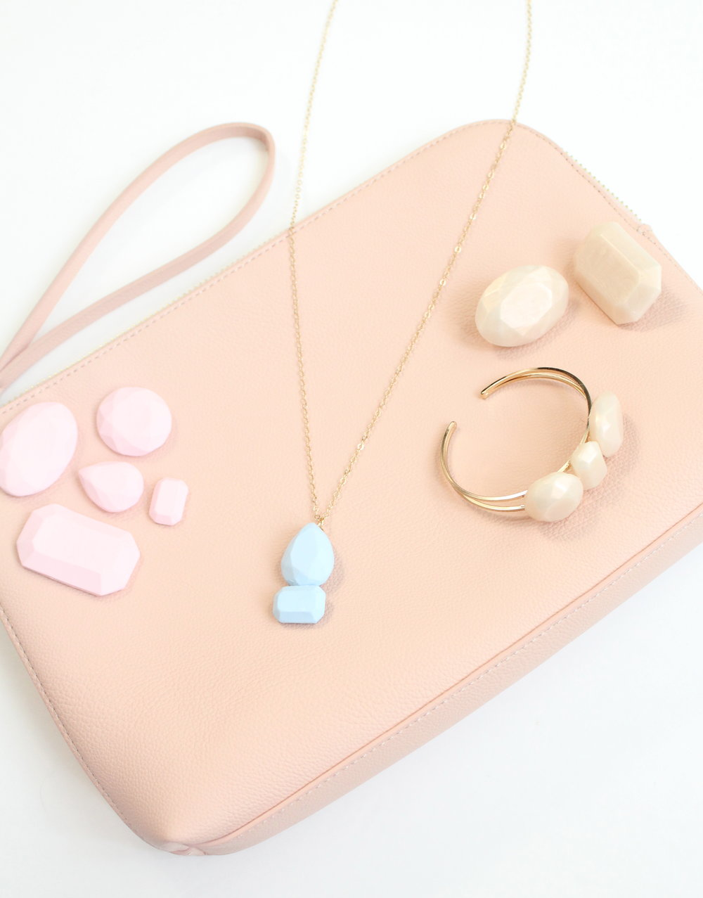 Clay Gemstone Accessories - Martha Stewart