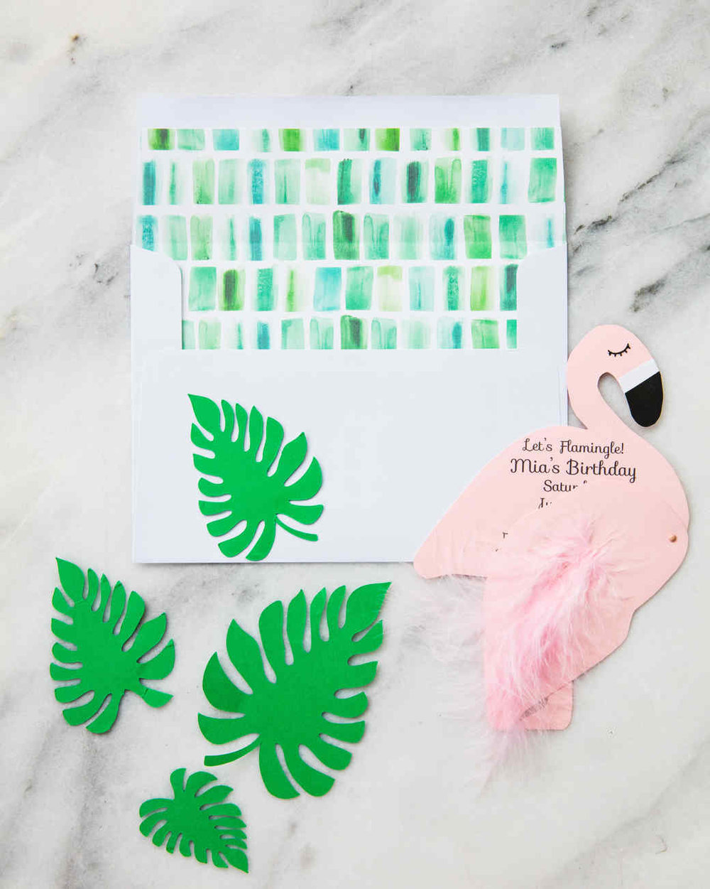 Flamingo Party Invitations  - Martha Stewart