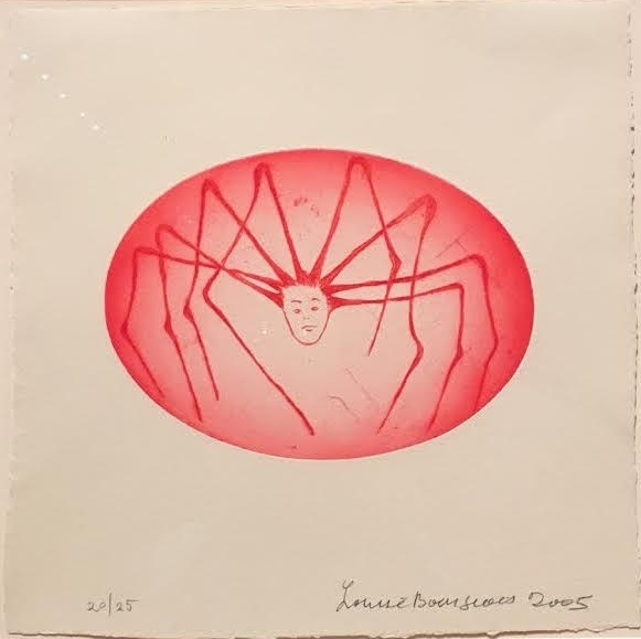 Spider Woman  by Louise Bourgeois, 2005,  Whitney Museum of American Art, NY,