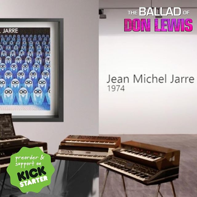 #ScreenGrab from the #exclusive #preview of the First 3min of the film (LINK IN BIO) and how #DonLewis influenced the #musicindustry.  #JeanMichelJarre lovers will love this film! Click LINK IN BIO to start watching THE BALLAD OF DON LEWIS now!  Available online for a limited time only!