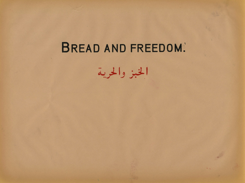 Bread and Freedom, Prestige of terror, 2010, Work on paper, 22 x 28 cm