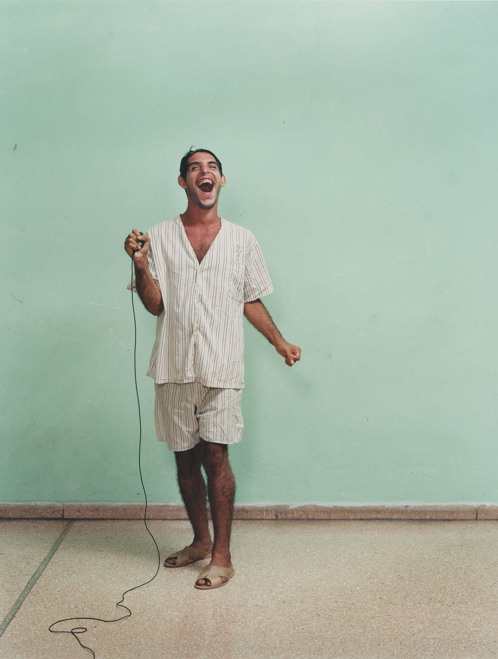 Rene Vallejo Psychiatric Hospital, Cuba, C-type print, 16 x 20 inches, 2003.