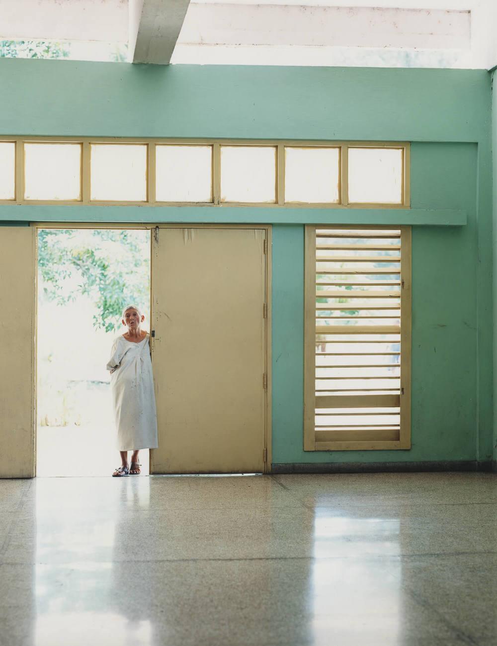 Rene Vallejo Psychiatric Hospital, Cuba, C-type print, 16 x 20 inches, 2003